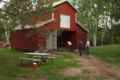 Shipping Container Cabin/barn