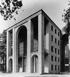 Giovanni Muzio. Palazzo della Triennale, Milano 1933.
