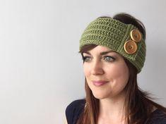 CROCHET PATTERN: Ainslee Headband crochet headband pattern