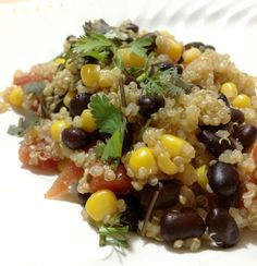 Mexican quinoa and black beans