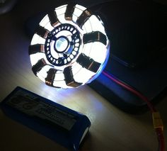 How To Build A Stark Industries Iron-Man Arc Reactor.... Very very low cost arc reactor that most can make very easy. now I have avinyl cutter and I have use of a mates cnc router but this is all about a build that anyone can do with some d.i.y tools that most have at home. And the parts I have used are every day junk and scraps that I found lay around, if you don't have any bits like I had you can allways try other things to make your build work. if you do find other things to use it b...