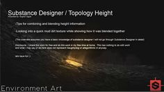 an overview of topology height blending in substance designer.