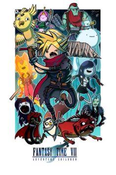 Adventure Time vs Final Fantasy