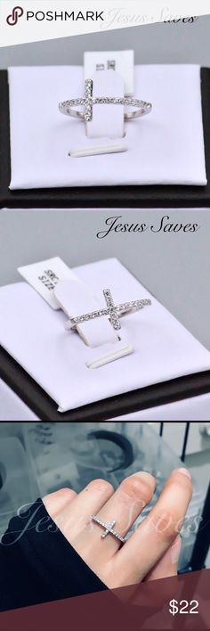 Princess Kylie Natural Larimar Jesus Cross Pendant Sterling Silver