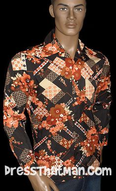 genuine disco shirts from the actual 1970's - no copies!
