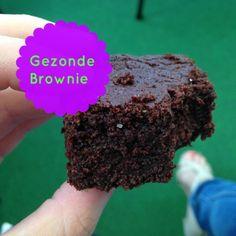 Gezond recept voor heerlijke brownies, niet van echt te onderscheiden. Deze…