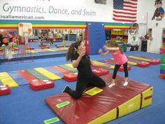Tips for Teaching Cartwheels to Kids Tip 5 (down the incline)