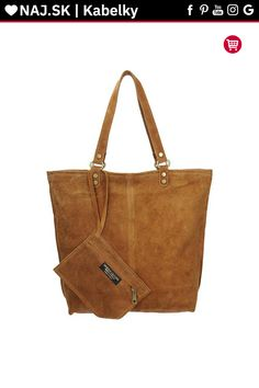Kabelka shopper Vera Pelle MIEDŹ KR-024 BROWN-016 Shopper Bag, Tote Bag, Michael Kors, Brown, Bags, Fashion, Handbags, Moda, Fashion Styles