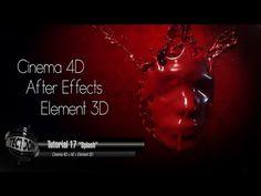 Tutorial 17 Splash Cinema 4D + AE + Element3D - YouTube