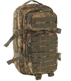 Mil-Tec Rucksack US Assault Pack, klein, flecktarn / mehr Infos auf: www.Guntia-Militaria-Shop.de