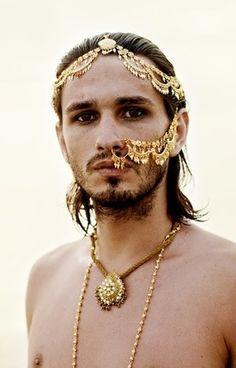 Jewelry worn by a Mercurian