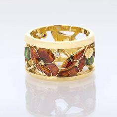 Poppies ring by Ilgiz Fazulzyanov