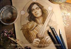 Fëanor Lotr Elves, Concerning Hobbits, Middle Earth, Tolkien, The Hobbit, Elf, Watercolor, Fictional Characters, Posts