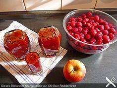 Apfel - Kirsch - Marmelade (Rezept mit Bild) von schmecktnet-gibbetnet | Chefkoch.de