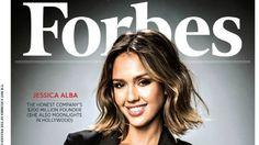Jessica Alba poderosa en la portada de Forbes