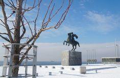 #alexanderthegreat #thessaloniki #youth_thessaloniki Winter Day, Winter Holidays, Alexander The Great, Thessaloniki, Greece, Youth, Greece Country, Young Adults, Winter Vacations