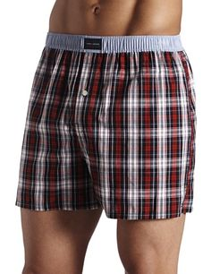 Black Friday Tommy Hilfiger Men's Tommy Tartan Boxer, Deep Red, Large from Tommy Hilfiger Tommy Hilfiger Boxers, Men's Undies, Men's Underwear, Tartan, Plaid, Timeless Fashion, Patterned Shorts, Casual Shorts, Mens Fashion