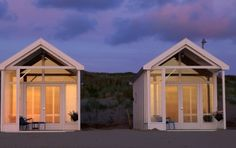 Beach Hut Heaven: Coastal Shore Cottages - I am a white cottage junkie, I admit it -  -  To connect with us, and our community of people from Australia and around the world, learning how to live large in small places, visit us at www.Facebook.com/TinyHousesAustralia