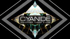 Beware, Cyanide can kill you slowly! | Cyanide Video Animation | 3 clips | Full HD 1920×1080 | Looped | Photo JPEG | Can use for VJ, club, music perfomance, party, concert, presentation | #abstract #blinking #cyan #cyanide #edm #fast #flicker #loops #music #poison #shape #stripe #strobe #tunnel #vj