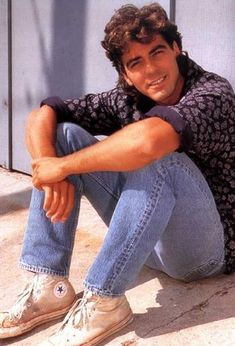 Young George Clooney.