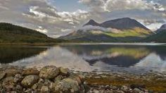 Allan Dodds also enjoyed the scenery at Loch Leven.