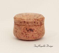 Wood  Box - Maple Burl, via Etsy.