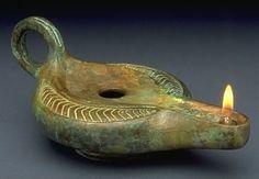 Biblical Era Oil Lamp