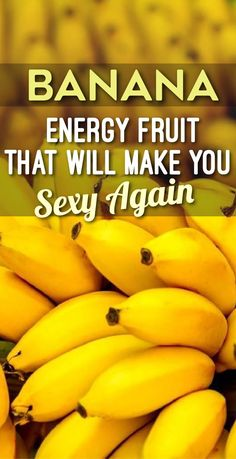 Banana - Energy Fruit That Will Make You Sexy Again - Body Finest Healthy Snacks For Diabetics, Healthy Foods, Healthy Recipes, Eating Healthy, Clean Eating, Banana Energy, Food Hacks, Food Tips, Crockpot Chicken Healthy