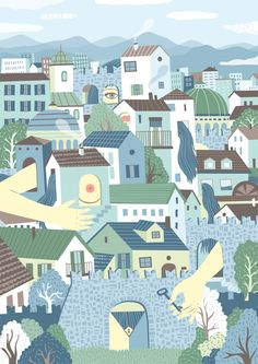 The Dreamy illustrations of Federica Bordoni
