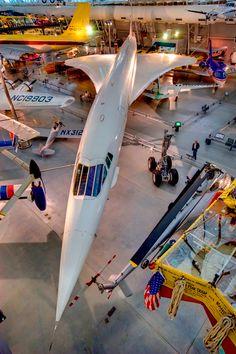 go inside the Concorde