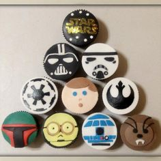 Star wars cakes. A little bit nerdy. A whole lot cool. :)