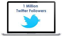 1 Million Twitter Followers and 2 Million Retweets: http://twifollowers.com/one-million-twitter-followers/ #Twitter #Followers #Follow4Follow #TwiFollowers #BuyTwitterFollowers