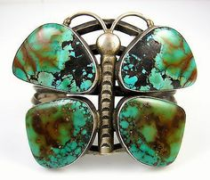 Royston Turquoise Butterfly Bracelet  -*-*-56+