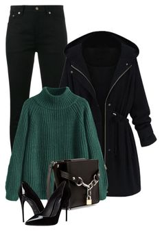 """""""Untitled #527"""" by leehyena on Polyvore featuring Yves Saint Laurent, WithChic, Alexander Wang and Dolce&Gabbana"""