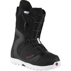 d574bd99ba79 Burton Mint Snowboard Boots - Black White Pink Snowboarding Outfit