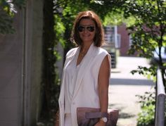 All white look – all time favourite Beautiful Morning, Life Is Beautiful, Prada Clutch, Summer Drinks, All White, What I Wore, All About Time, Personal Style, How To Wear