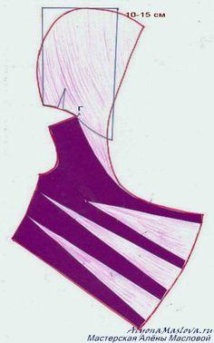 Капюшон для блузы 4