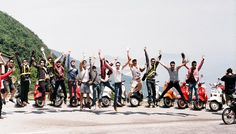 Get high on Hai Van pass, Vietnam