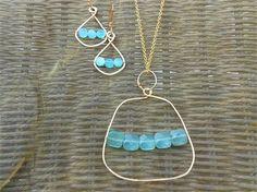 Hammered Wire Jewelry Handmade