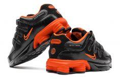 Nike Shox Nz Orange Black