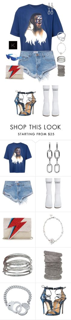 """""""Untitled #4110"""" by kimberlythestylist ❤ liked on Polyvore featuring Y/Project, Alexander Wang, OneTeaspoon, Vetements, Sarah's Bag, Stephen Webster, Michael Schmidt, BERRICLE and Dsquared2"""