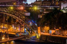 Dom Luís Bridge by Vladimir Popov / Uhaiun on 500px