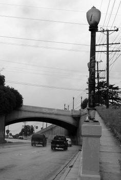 Waverly Drive Bridge  Over Hyperion  Silverlake, LA, CA