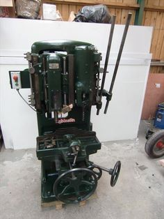 Chain Saw Mortising Machine