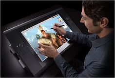 The Cintiq Touch Tablet by Wacom is every designers dream. The tablet is a complete tool for design, video, art and animation. It allows you to immerse in a creative experience, with a LED display that has over one billion colors! Cool Technology, Technology Gadgets, Tech Gadgets, Cool Gadgets, Futuristic Technology, Amazing Gadgets, Technology Updates, Electronics Gadgets, Cintiq Tablet