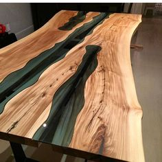 """7,789 Likes, 49 Comments - @woodworkforall on Instagram: """"One of my favorite tables ever, from @jeffmackdesigns. . . . #woodworkforall #luxurygoods #woodwork…"""""""