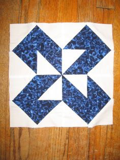 Double Z quilt block