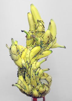 Banana Sculpture by Matt James Stone.