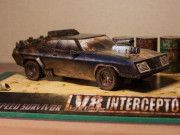 This paper car is a Mad Ma Interceptor (Ford Falcon XB GT), a full-size car that was produced by Ford Australia, the paper model is created by . For mor Paper Model Car, Paper Car, Paper Models, Paper Toys, Paper Crafts, Ford Falcon, Mad Max, Papercraft Download, Paper Magic
