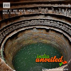 Dating back to the 11th century, Rani Ki Vav or Queen's Stepwell, located in  Patan, Gujarat, was designed as an  inverted temple to highlight the sanctity of water. Divided into 7 levels of staircases, which showcase more than 500 sculpted panels and over a thousand minor ones, Rani Ki Vav depicts religious, mythology and literary imagery. It is truly a marvellous sight to behold!  To download and read more India Unveiled stories, visit www.indiaunveiled.org